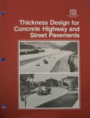 Thickness design for concrete highway and street pavements