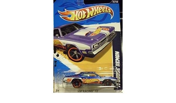 Hotwheels HW RACING 12 /'71 DODGE DEMON 2012 #177//247-1//64