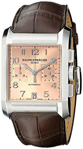 Baume-Mercier-Mens-A10031-Hampton-Analog-Display-Swiss-Automatic-Brown-Watch