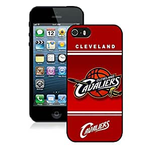 New Custom Design Cover Case For iPhone 5s Generation Cleveland Cavaliers 10 Black Phone Case