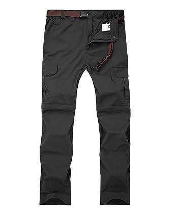 5ed9e1aa99fd1 Amazon.com  Women s Outdoor Casual Quick Dry Convertible Lightweight Hiking  Fishing Zip Off Cargo Pants  6059  Clothing