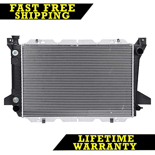 (2 Row Radiator For 85-97 Ford F-250 F-350 Bronco Great)