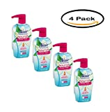 PACK OF 4 - Nair Shower Power Moroccan Argan Oil with Orange Blossom Cream Max Hair Remover 13 oz. Pump