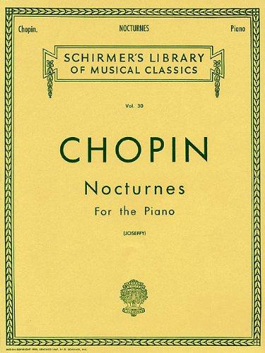 Nocturnes: Piano Solo
