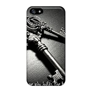Hot Design Premium MWpzDJQ7645HKLkp Tpu Case Cover Iphone 5/5s Protection Case(the Key To My Heart)
