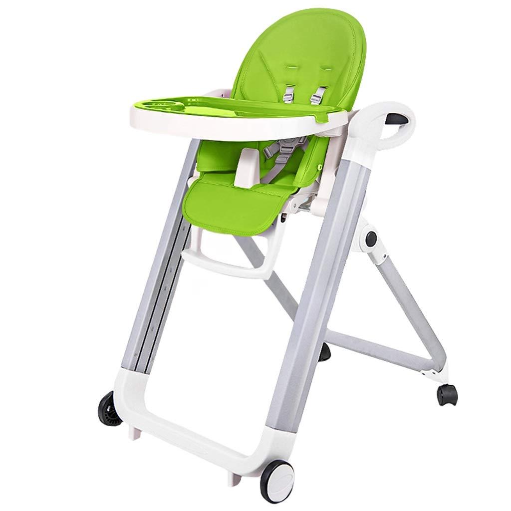 DUWEN ハイチェア幼児用チェア子供用ダイニングチェア多機能メタルハイチェアポータブル折りたたみダイニングテーブル   B07PR92V3C