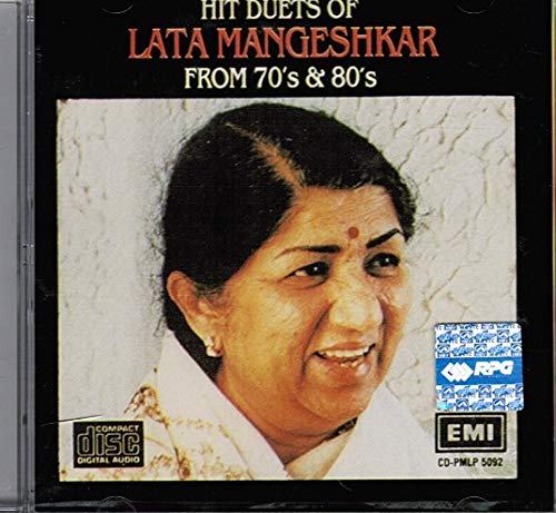Hits Dutes Of Lata Mangeshkar From 70's & 80's (Brand New Single Disc Audio Cd, Released By EMI) Made In England