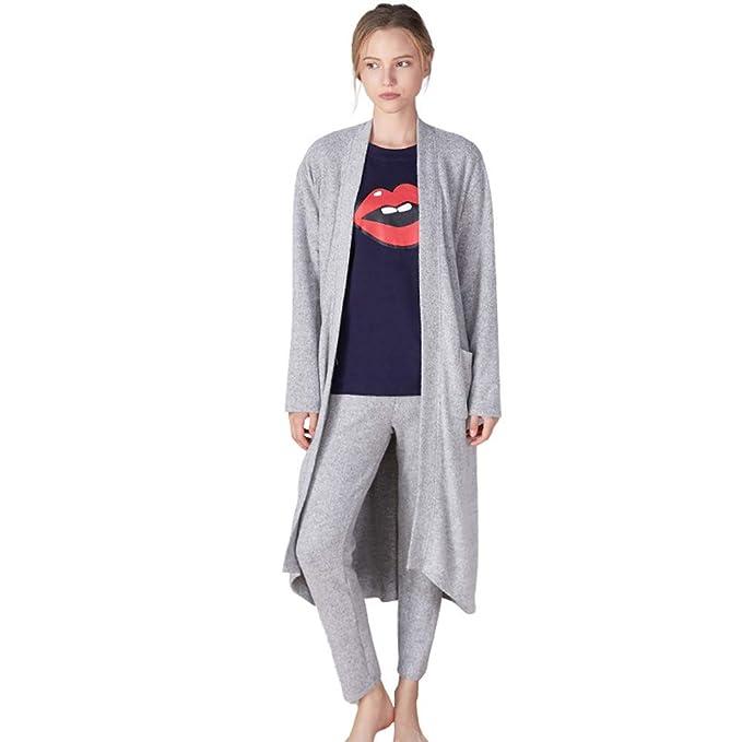 La Bata De Baño De Dos Piezas para Damas Y Caballeros En Pijamas También Se Puede