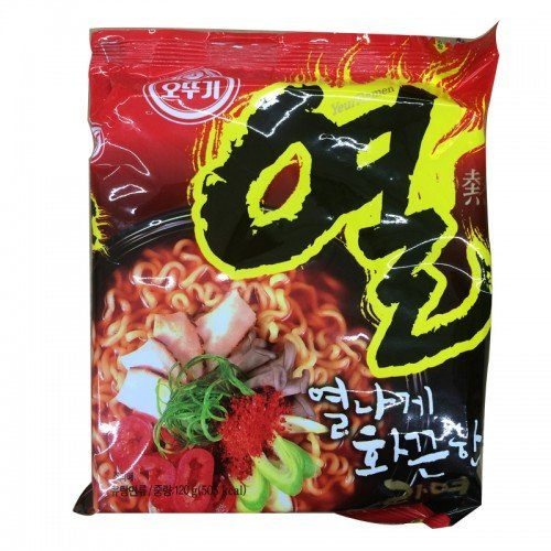 OTTOGI INSTANT NOODLE HOT SPICY BEEF FLAVOR 120 -