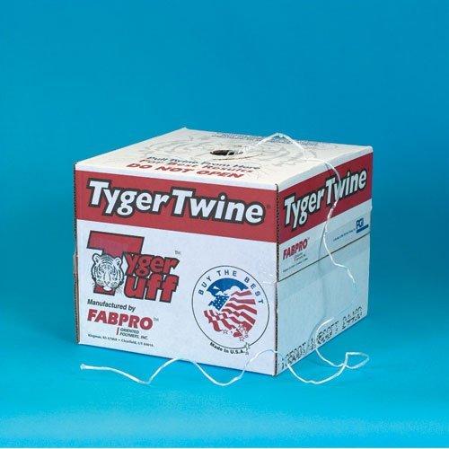 1-Ply, 210 Pound, White Polypropylene Tying Twine by Tyger Tuff
