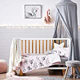 MOSQUITO NETS - KCPer Kids Baby Bedding Round Dome Bed Canopy Netting Bedcover Mosquito Net Curtain (Gray)