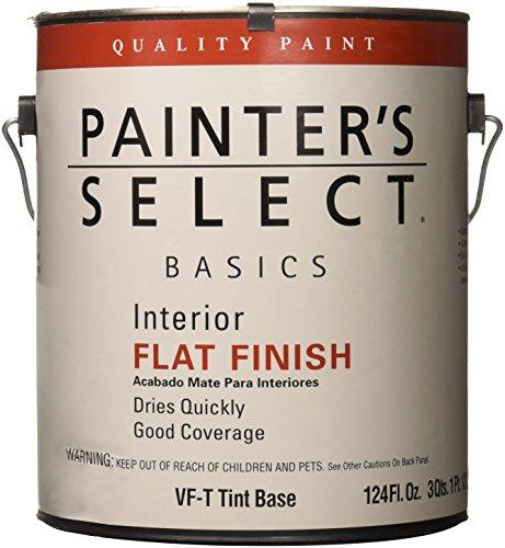 True Value VFT-GL Painter's Select Basics Tint Base for Interior Flat Latex Wall Paint, 1-Gallon