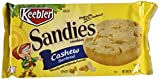 Sandies Keebler Cookies, Cashew Shortbread, Bulk Size, 134.4 oz (12, 11.2 oz Packs)