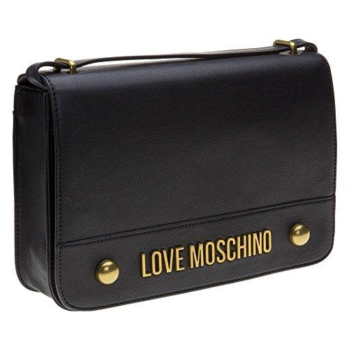 Love Moschino Cross Body Womens Handbag Black by Moschino Love Moschino (Image #1)'