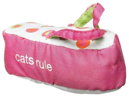 Cats Rule Catnip Toy – Blue Flip Flop, My Pet Supplies
