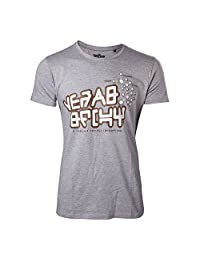 Guardians of the Galaxy T Shirt Yeah Baby Star Lord Official Mens New Grey