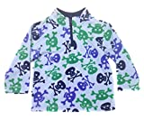 Product review for Hanna Andersson Baby Boy Soft Fleece 1/4 Zip Shirt Skull Jacket