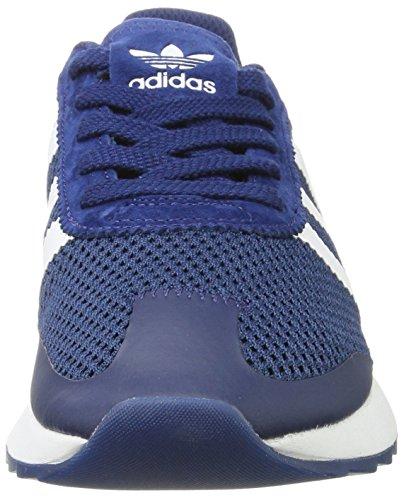 Blu Ginnastica Donna Blue Footwear Blue Mystery Flashback adidas da Mystery White Scarpe Basse wqXx7YxA4t