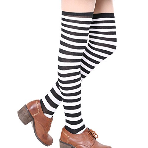 a7a4f5d8ac135 We Analyzed 4,709 Reviews To Find THE BEST Thigh High Socks Striped