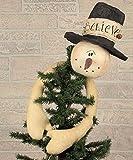 Honey In Me Believe Snowman Tree Topper