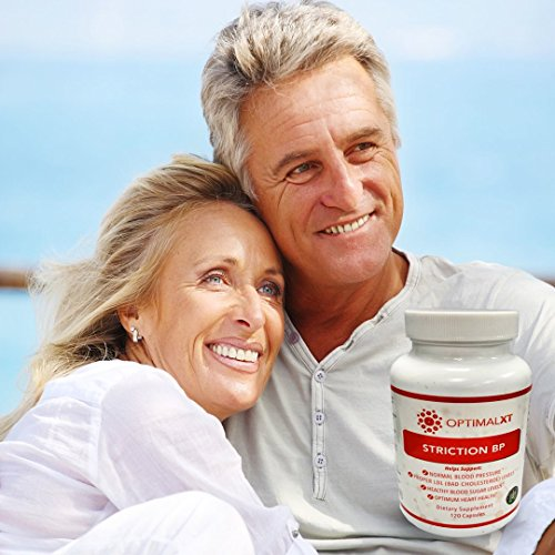 StrictionBP 120 Capsules — 100% Natural & Best Proprietary Blend Hypertension Supplements w/ Ceylon Cinnamon & Vitamin B6 — Supports Normal Blood Pressure & Healthy Cholesterol Levels — OptimalXT by OptimalXT (Image #2)