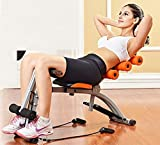 Siddhi Collection Six Pack Abdominal Care Exerciser, Ab Cruncher Bike, With Resistance Band