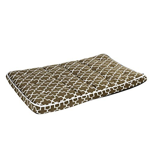 Bowsers Luxury Crate Mattress Dog Bed, X-Large, Cedar Lattice by Bowsers