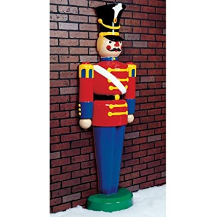 toy soldier life size fiberglass christmas decoration - Fiberglass Christmas Decorations