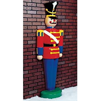 Amazon.com: 6.3 ft. - Toy Soldier - Life Size - Fiberglass ...