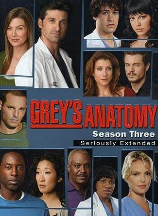 Greys Anatomy Season 3 Seriously Extended Amazonca Ellen