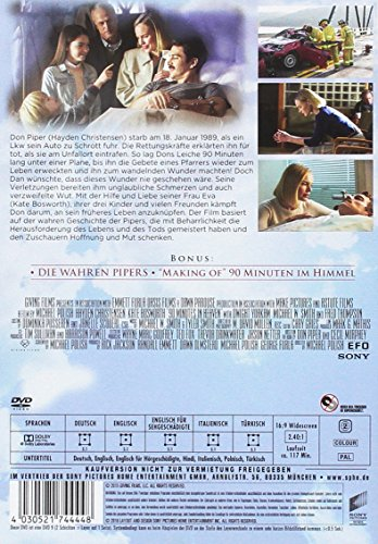 90 Minuten im Himmel: Amazon.de: Kate Bosworth, Hayden Christensen, Dwight  Yoakam, Michael Polish: DVD & Blu-ray