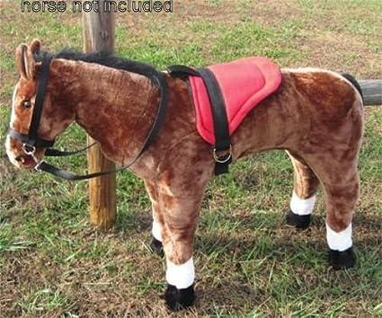 MELISSA /& DOUG GIANT PLUSH HORSE SNAP ON STIRRUPS