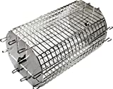 Cheap OneGrill Performer Series Universal Fit Grill Rotisserie Spit Rod Basket; Tumble & Flat Basket In One.(Fits 1/2″ Hexagon & 3/8″ Square Spits)