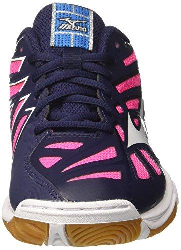 2 Voleibol Mizuno Multicolor Zapatillas Mujer Wos peatcoatwhite Para De Wave Hurricane wSSHnpqxFA