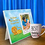 First Father's Day Picture Frame Gift