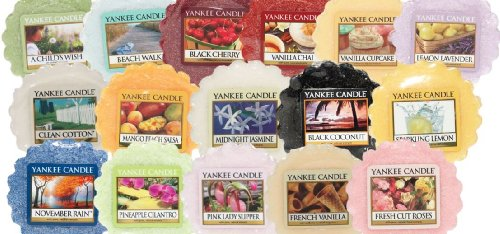 Yankee Candle- 5X Mixed Fragrance Wax Tarts