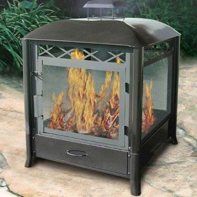 Aspen Pagoda Fireplace