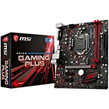 MSI Performance GAMING Intel Coffee Lake H310 LGA 1151 DDR4 Onboard Graphics Micro ATX Motherboard (H310M GAMING PLUS)