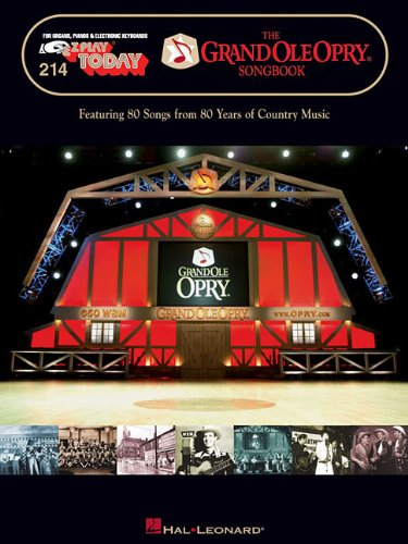 The Grand Ole Opry Songbook: E-Z Play Today Volume 214