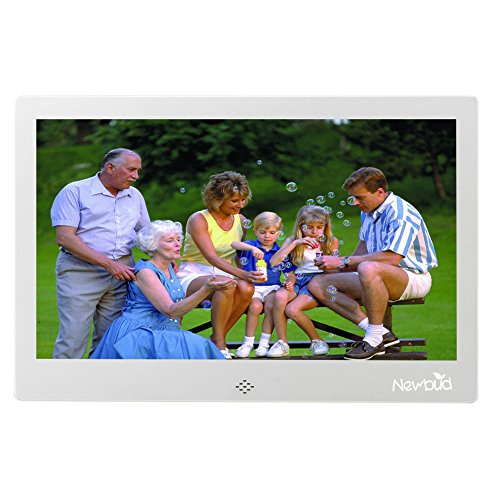 10 inch-HD TFT-LCD Digital Photo Frame Electronic Frame Alarm MP3/4 Movie Player with Remote Desktop by Newbud