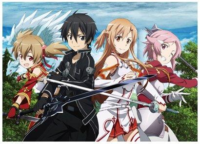 Anime Sword Art Online - High Grade Laminated Poster