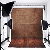 MOHOO 5X7ft Photography Background Backdrop Concrete Wall Floor Studio Photo Props 1.5X2.1m