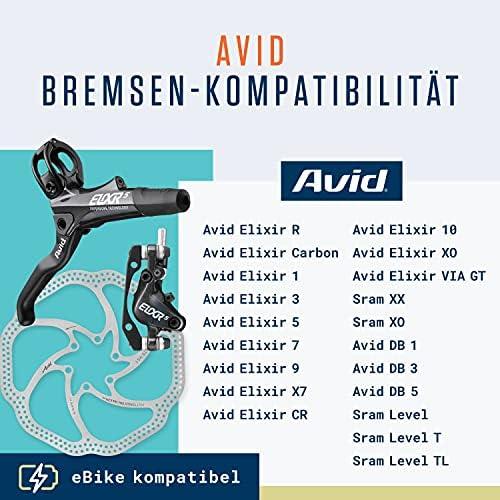 8x Fahrrad Bremsbeläge Scheibenbremsbeläge für Avid Elixir 3 5 7 9 CR SRAM