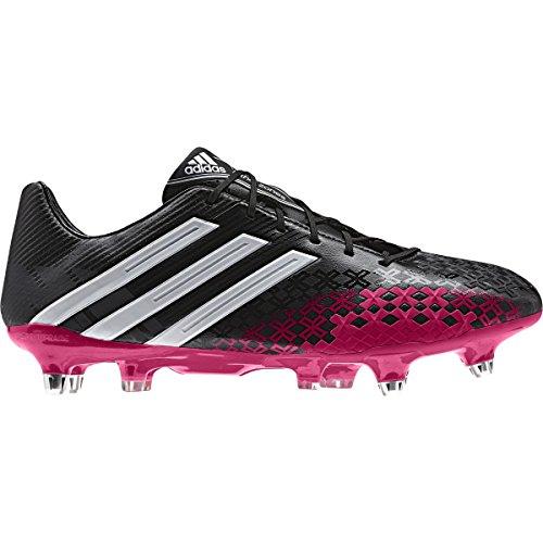adidas Predator LZ XTRX SG - Botas de fútbol para hombre - Negro y rosa