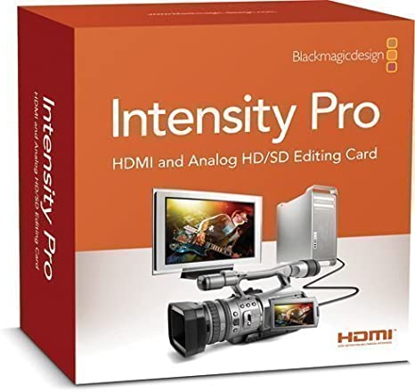 Blackmagic Design Intensity Pro Hdmi And Analog Editing Card Amazon Co Uk Computers Accessories