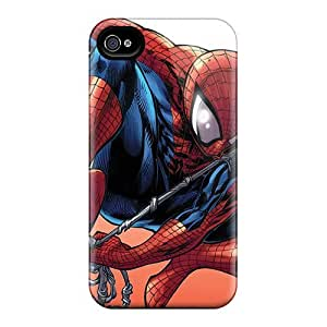 Anti-scratch And Shatterproof Spider Diving Phone Cases For Iphone 5/5s/ High Quality Cases