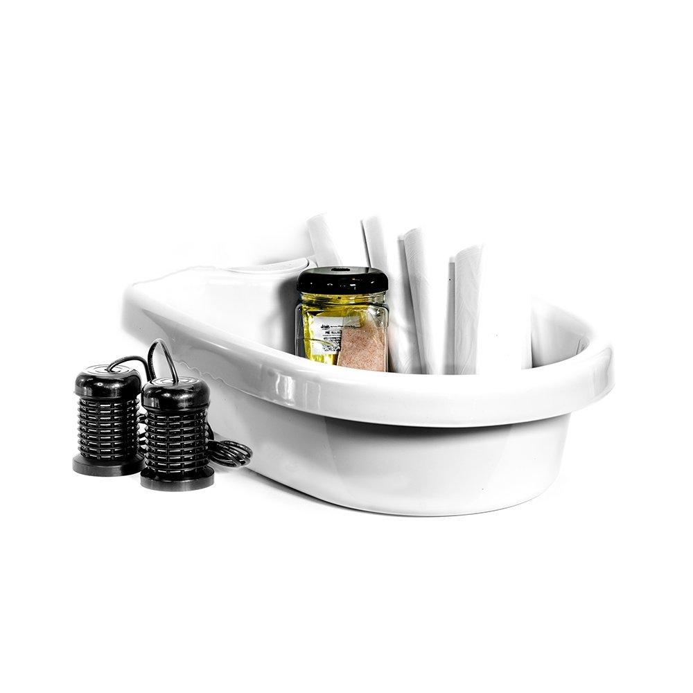 IonizeMe Elite Ionic Detox Foot Bath Spa Machine with Accessories - 17.0V 2.2 Amps - 5 Yr Warranty by HEALTHandMED (Image #5)