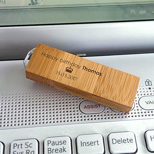 Bamboo usb flash drive 3.0 8~64GB,usb gifts,Personalized usb,Custom usb,engraved usb,Memory Stick,USB Stick,wood flash drive,Back to School- Handmade …