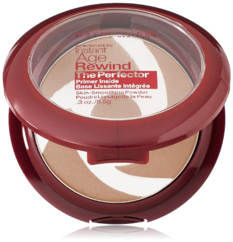 Maybelline New York Instant Age Rewind The Perfector Powder, Light/Medium, 0.3 Ounce