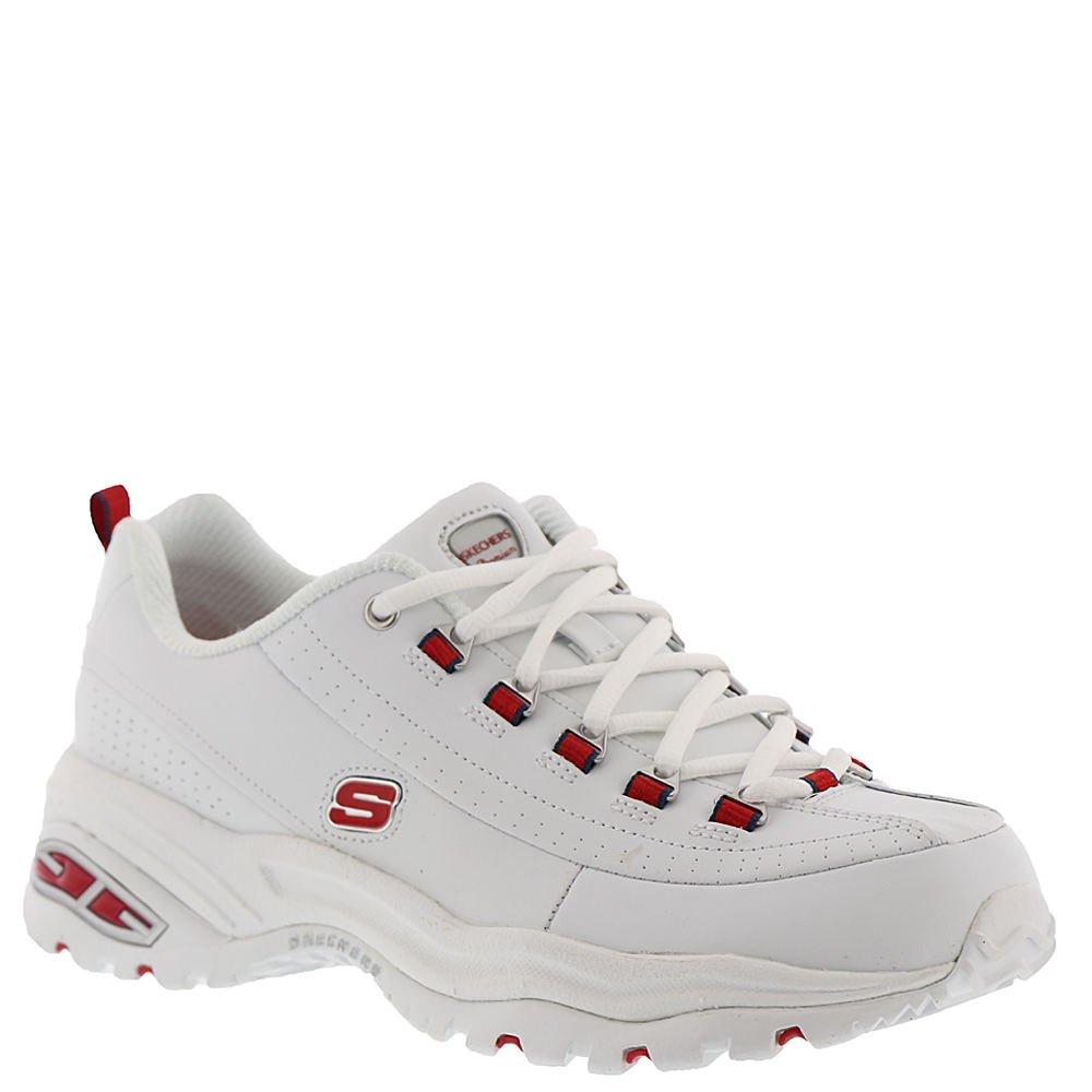 Skechers Sport Premium Seeing Double Women's Sneaker B07B3X7SZW 10 B(M) US|White-red